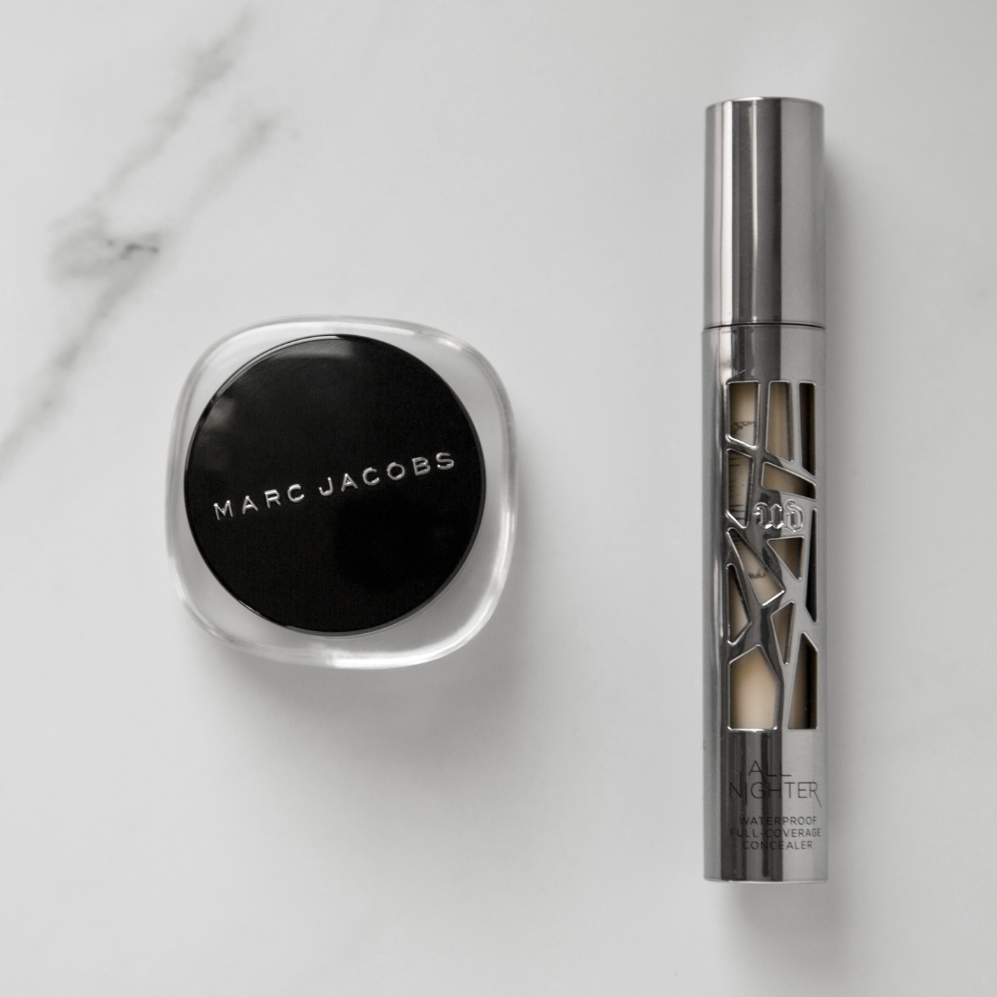 Marc Jacobs Re(marc)able Full Cover Concealer & Urban Decay All Nighter Waterproof Full-Coverage Concealer