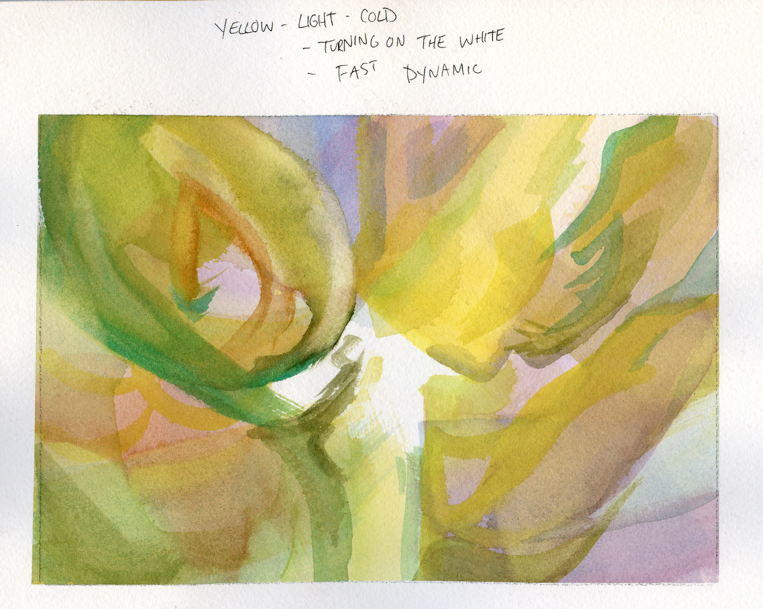 Colour Nuance Study - Watercolour