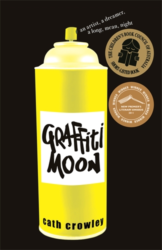 Graffiti Moon - Thanks to all the schools who study Graffiti Moon. It's a privilege to talk to readers about this book. If you're studying Graffiti Moon, or using it in a literature circle, let me know and get a special price for an online Q&A.Online author Q&A (60 minutes) special price: $100.Email me to ask about online author Q&As via the form below.