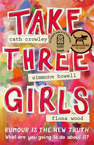 Take Three Girls - Studying Take Three Girls in the classroom? Using it as a literature circle book? Email me to get 20% off an online author Q&A.Thinking about a school visit? Email me to talk about the possibilities.Already bought the book? Email me to receive some Take Three Girls Posters and reading notes for your literature circle.