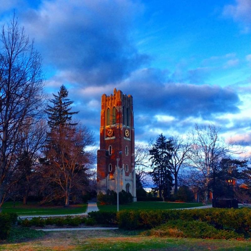 Michigan State University. Beaumont Tower. East Lansing, MI