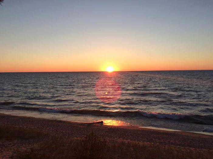 Twelve Mile Beach / Pictured Rocks National Lakeshore. Lake Superior. Munising, MI