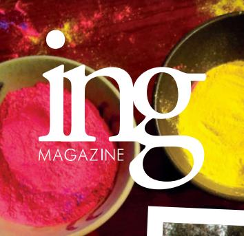 STAFF WRITER & EDITOR @  ing Magazine
