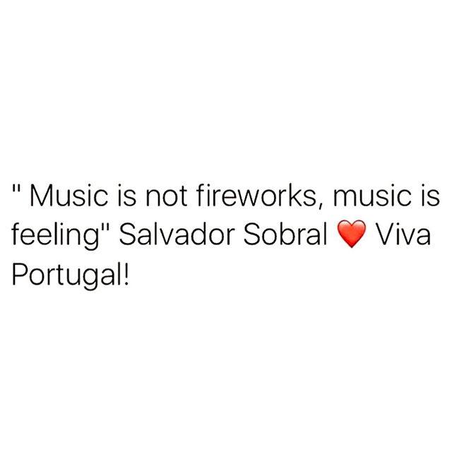QUE ORGULHOOO 🇵🇹🇵🇹🇵🇹 #salvador #salvadorable #portugal #eurovision #winner #proudportuguese #whataday