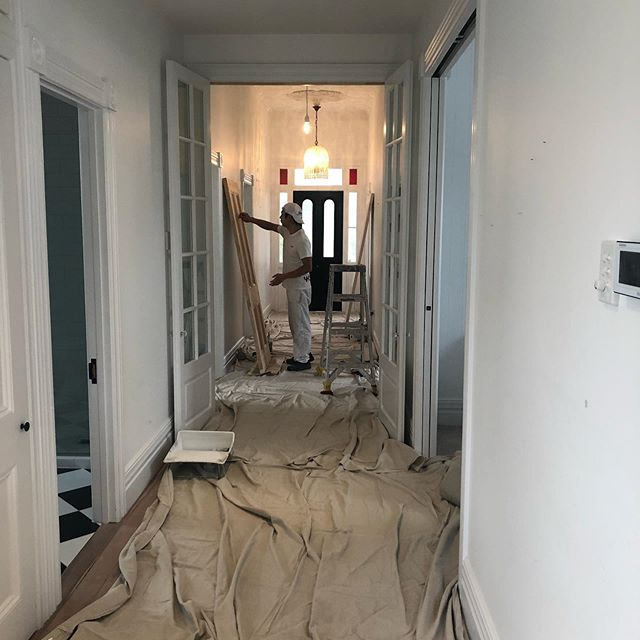 It's all in the prep!  Makovers by Kärlek  #makeovers #interiordesign #villa #beautifulhomes #hallway #lovewhatido
