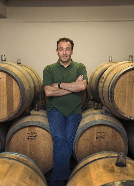 Christophe Daviau, vigneron of Domaine de Bablut