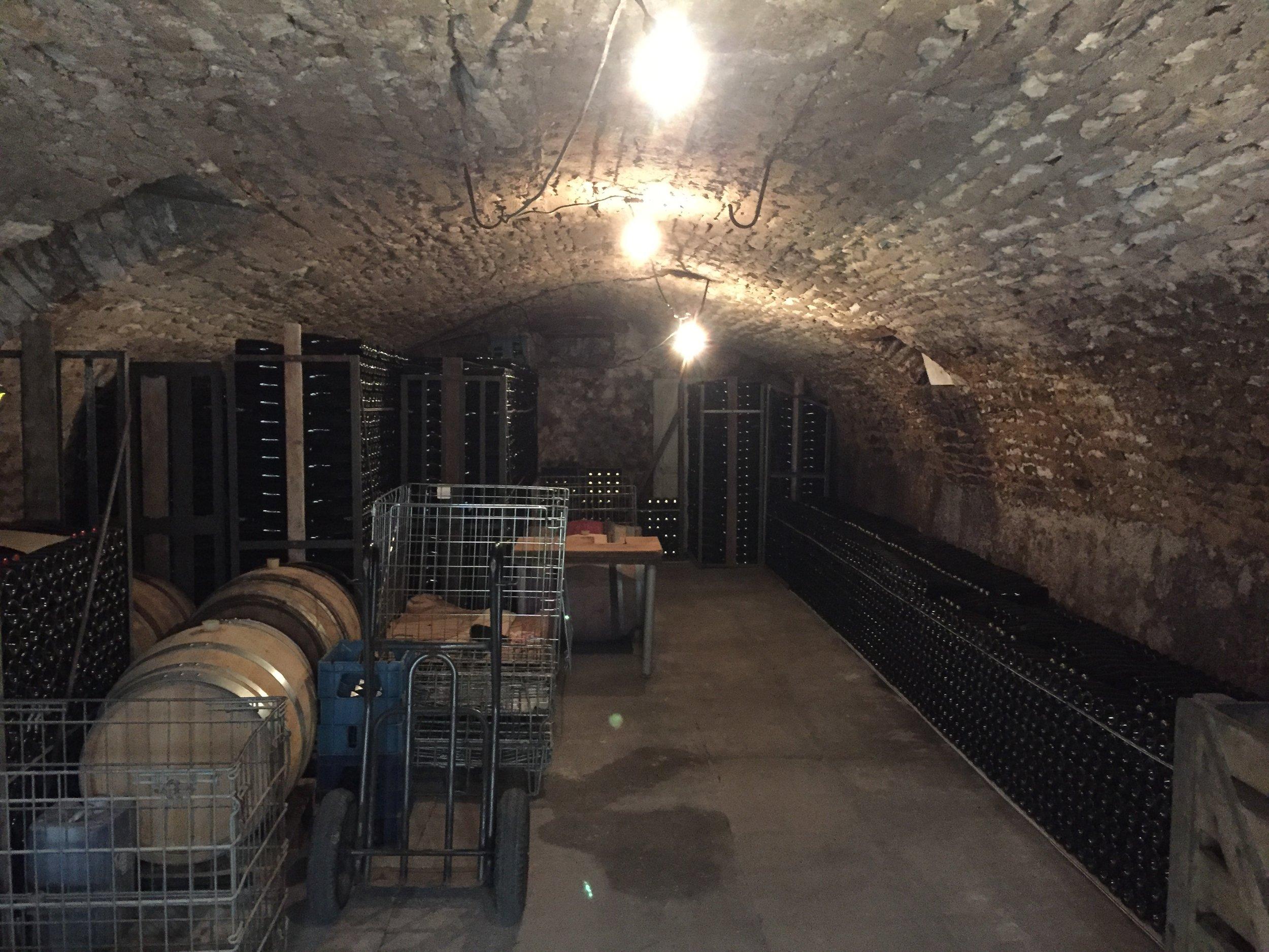 Mason Crochet's cellar