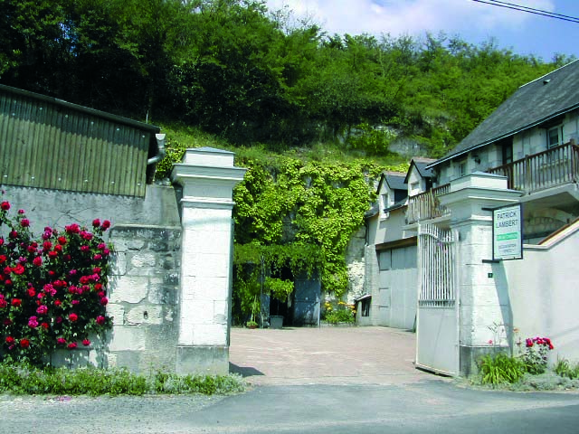 Gate to the Domaine
