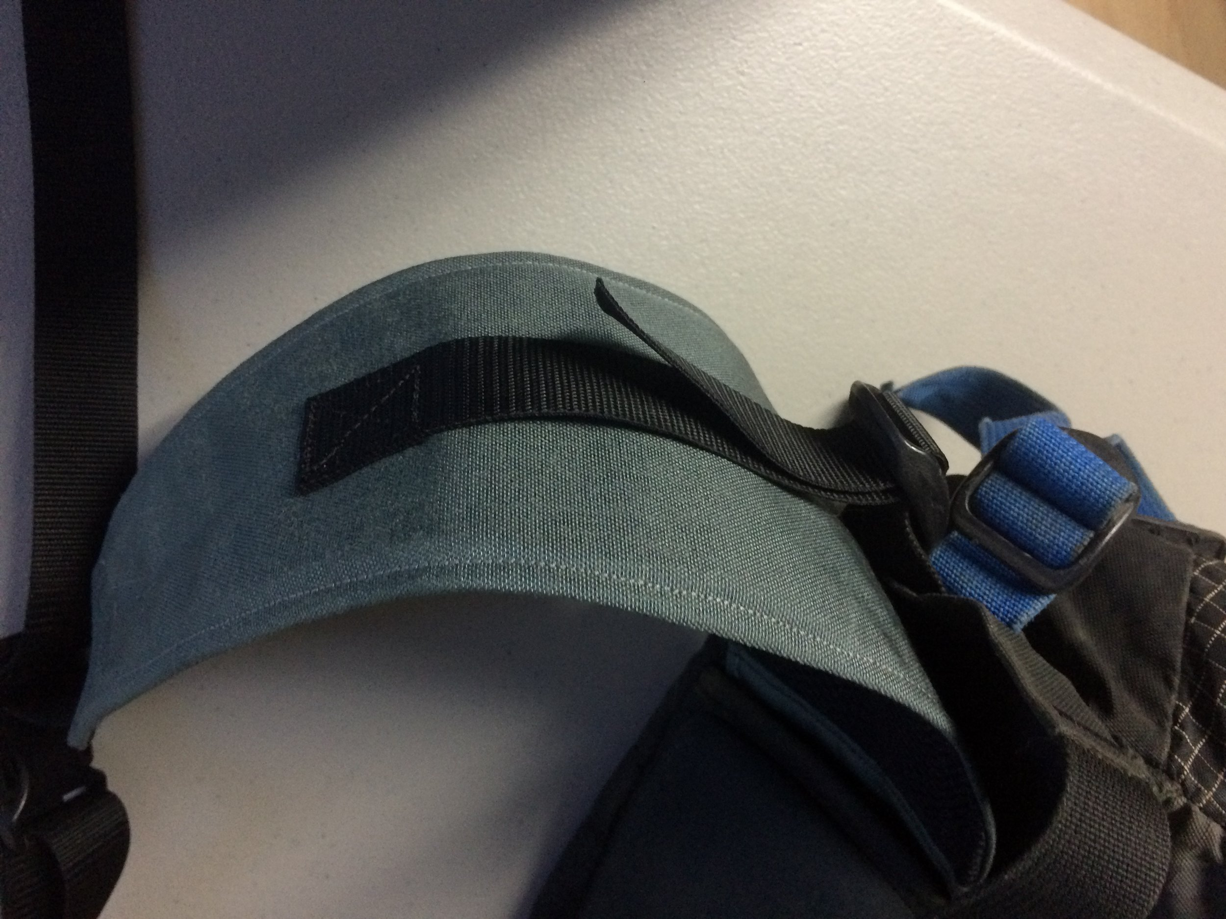 Custom built replacement hip belt