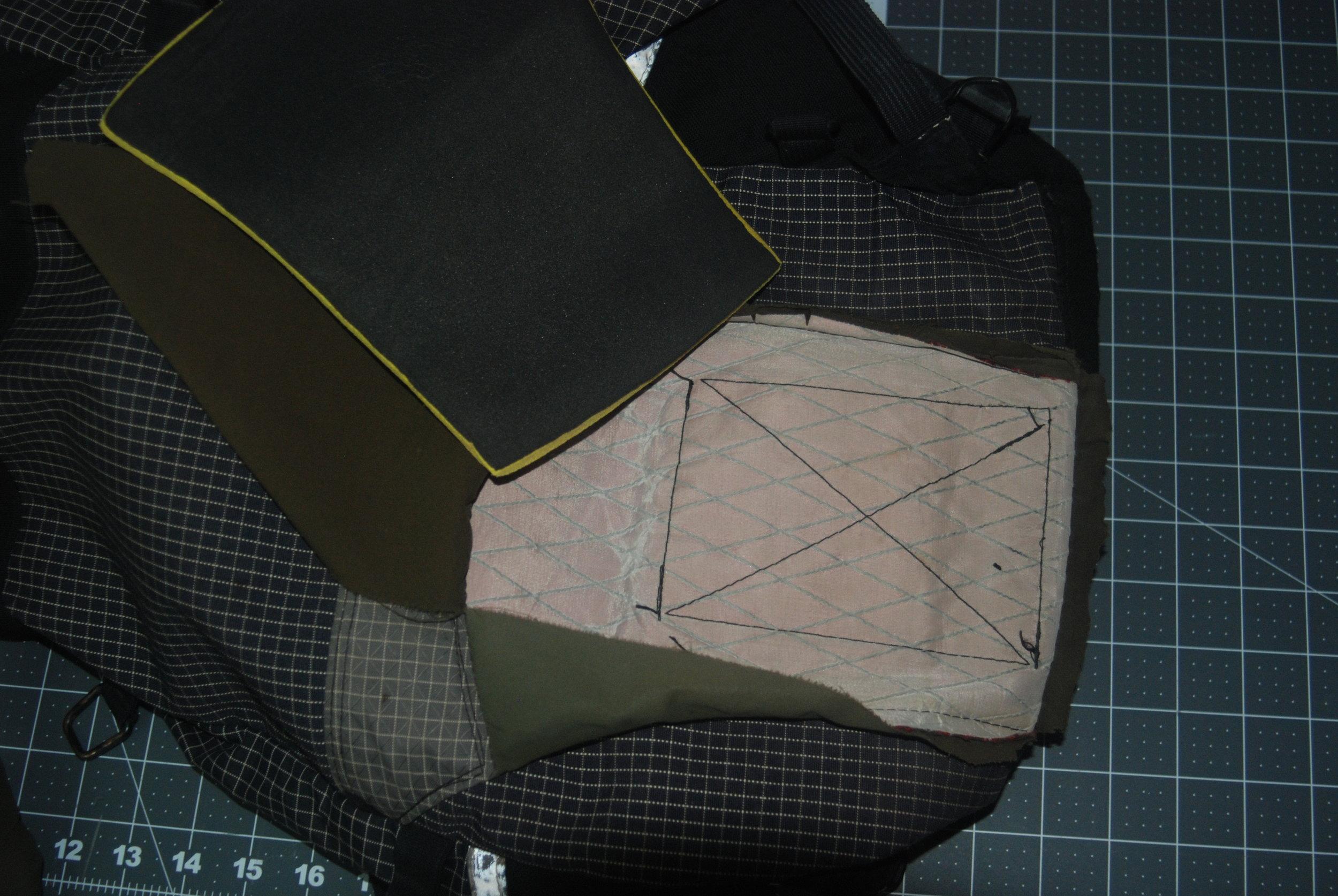 Rebuild of lumbar pad