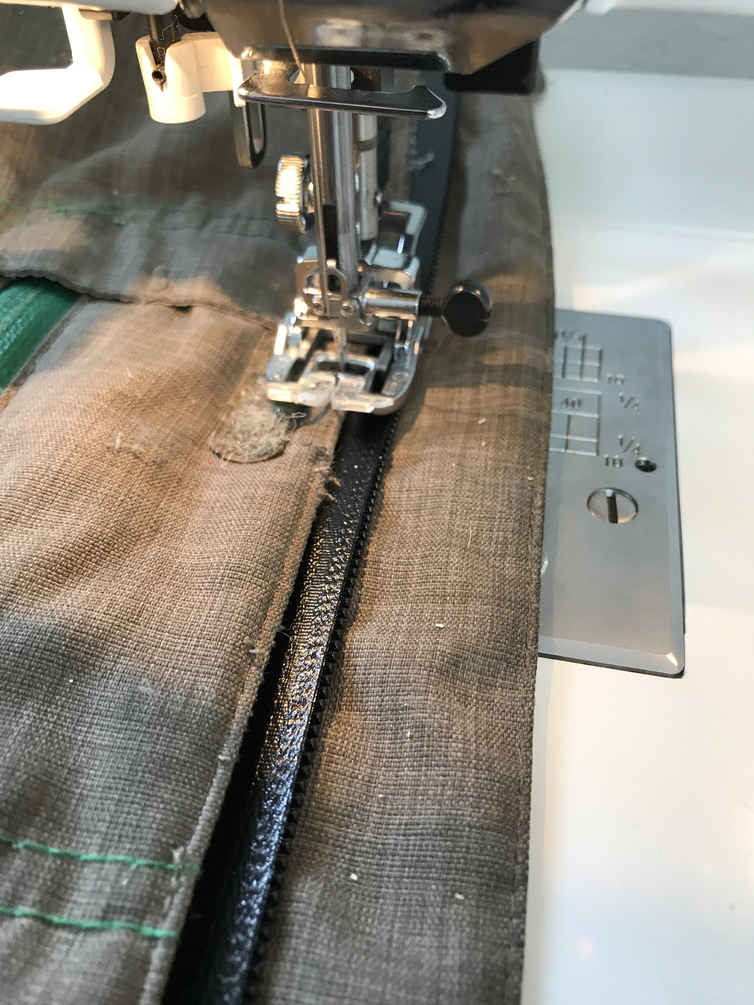 Want a water resistant zipper in place of your standard one? Let us know!