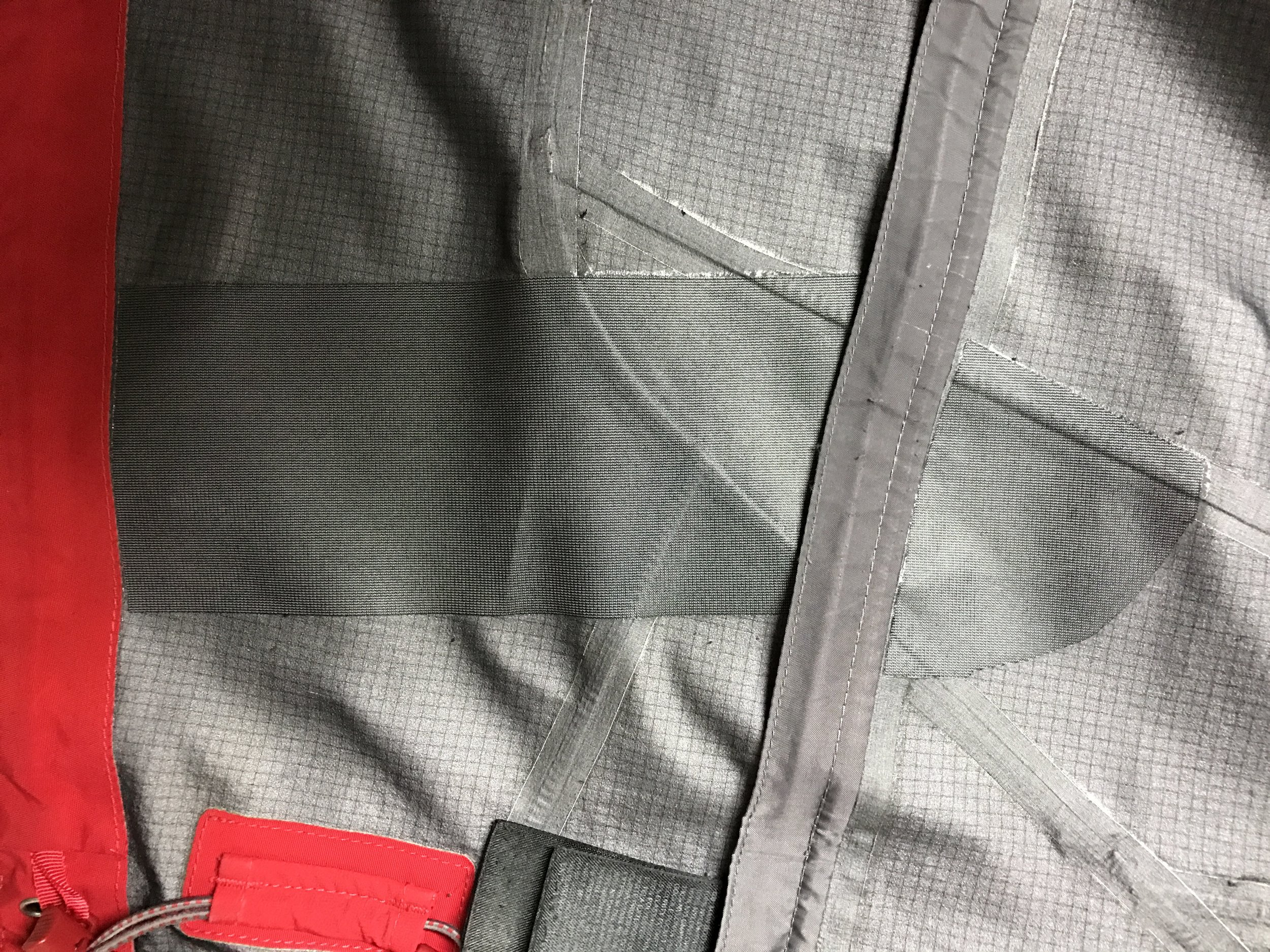 By using a wide seam tape, we are able to protect the waterproof breathable membrane and extend the useful life of the garment.