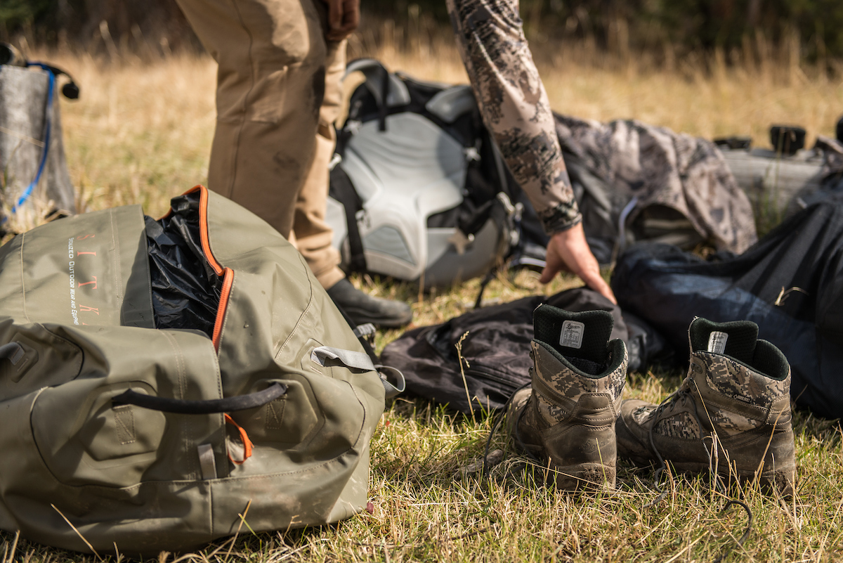 Going through your gear before you get in the field ensures everything is up to snuff when it counts, or when things go sideways. Image Copyright Steven Brutger, used with permission.