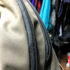 Backpack zipper replacement
