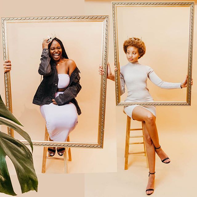 "The evening of Monday, February 25, 2019, @maisonsaintjames & I hosted ""At The Table"" with @bumble at @bredastudio, celebrating the numerous accomplishments of black women throughout U.S. History and in our own community. I was honored to take this opportunity to begin a portrait series named ""FRAMED"" that aims to tell a story of the African American community, framed by the community themselves. The image of black women and men has consistently been framed by the media, the political system, the criminal justice system, and the majority at large. This series was a step into a different direction — of reframing our own identities; of holding up the frame for our sisters and brothers, shedding light onto the vibrance, strength, and beauty of who we are — our hair, our skin, our creativity, our ancestry, our heritage. Click the link in my bio to see the full story. #blackwomenbuilt"