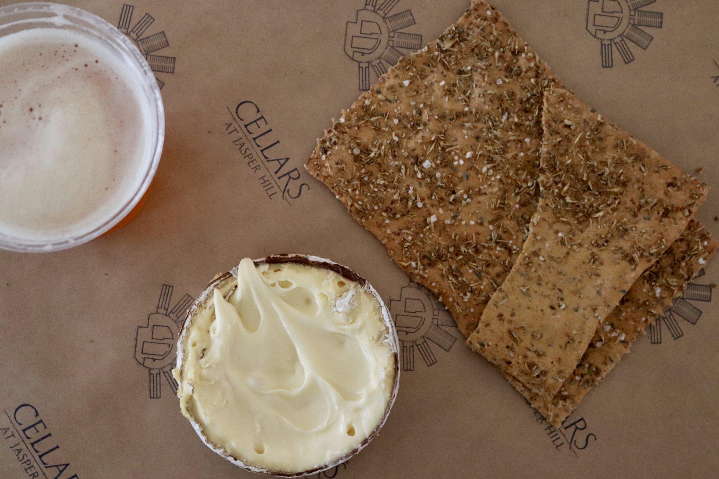 harbison, sip of sunshine IPA and Vermont beer crackers