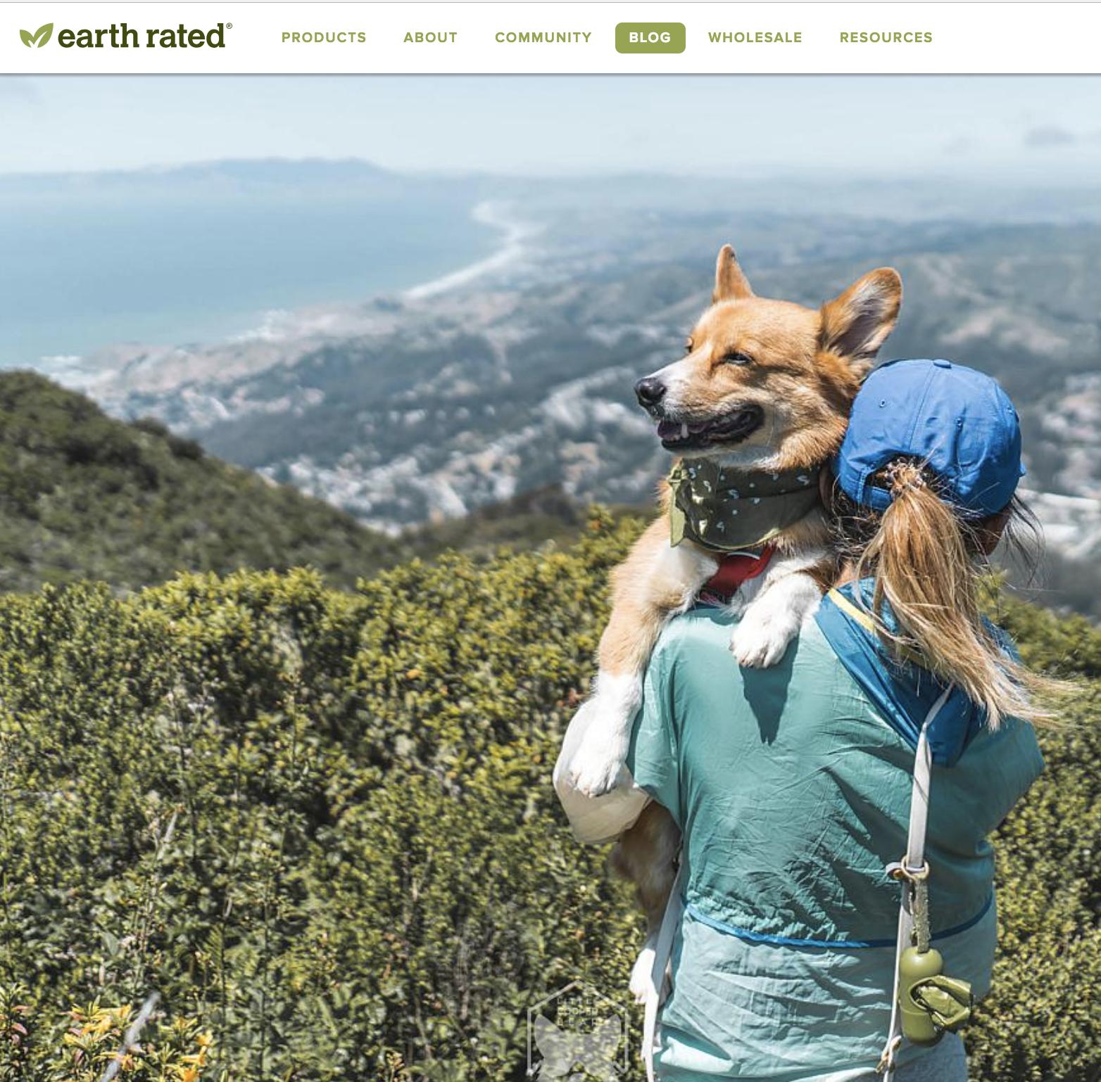 Earth Rated:  Hiking With a Corgi