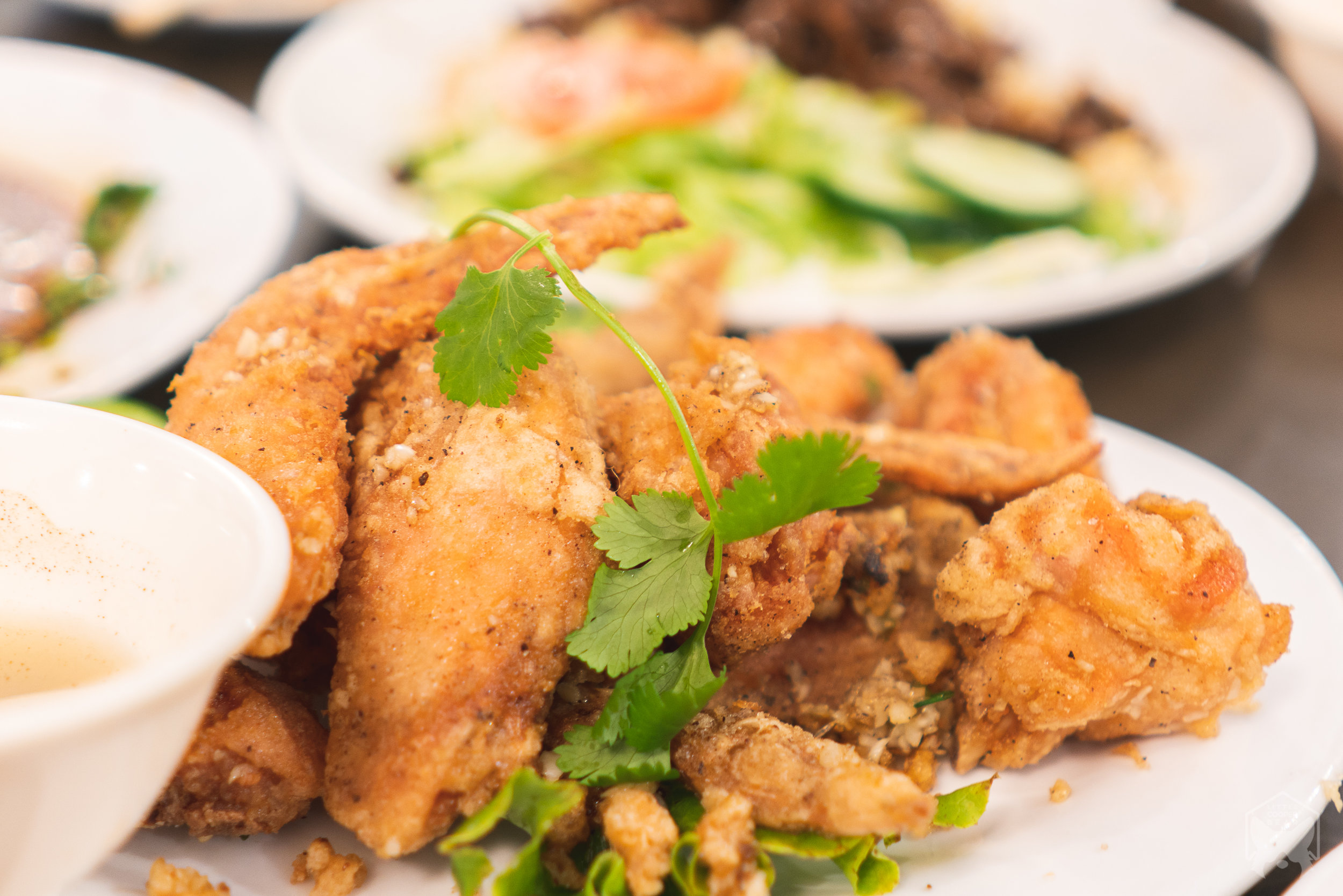 Phnom Penh deep fried chicken wings