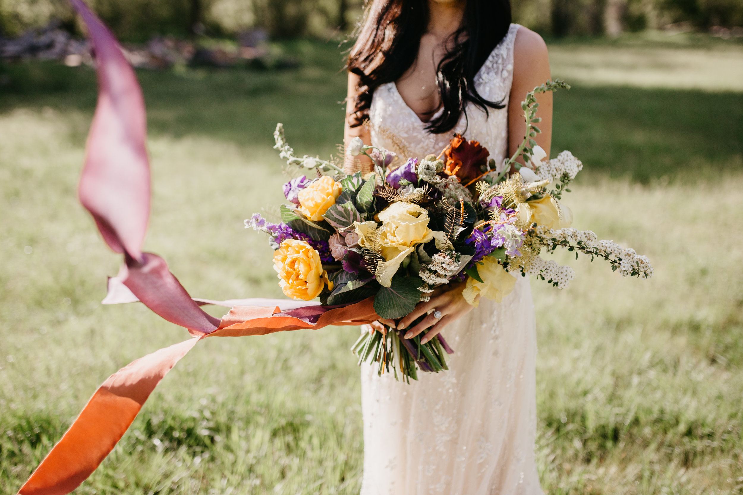 HoneySilks + The Potted Pansy Bouquet