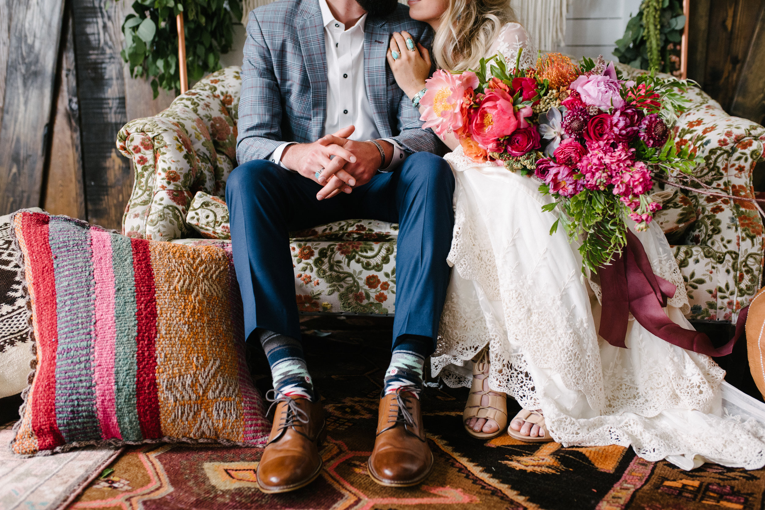Elopement Florals The Potted Pansy