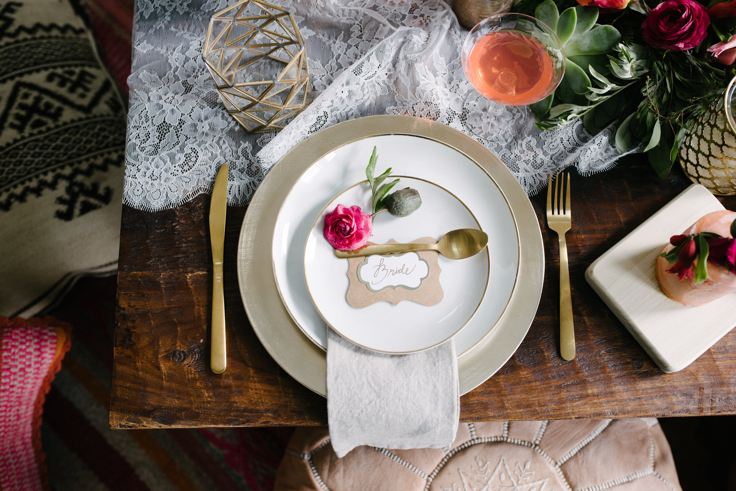 Elopement Table The Potted Pansy