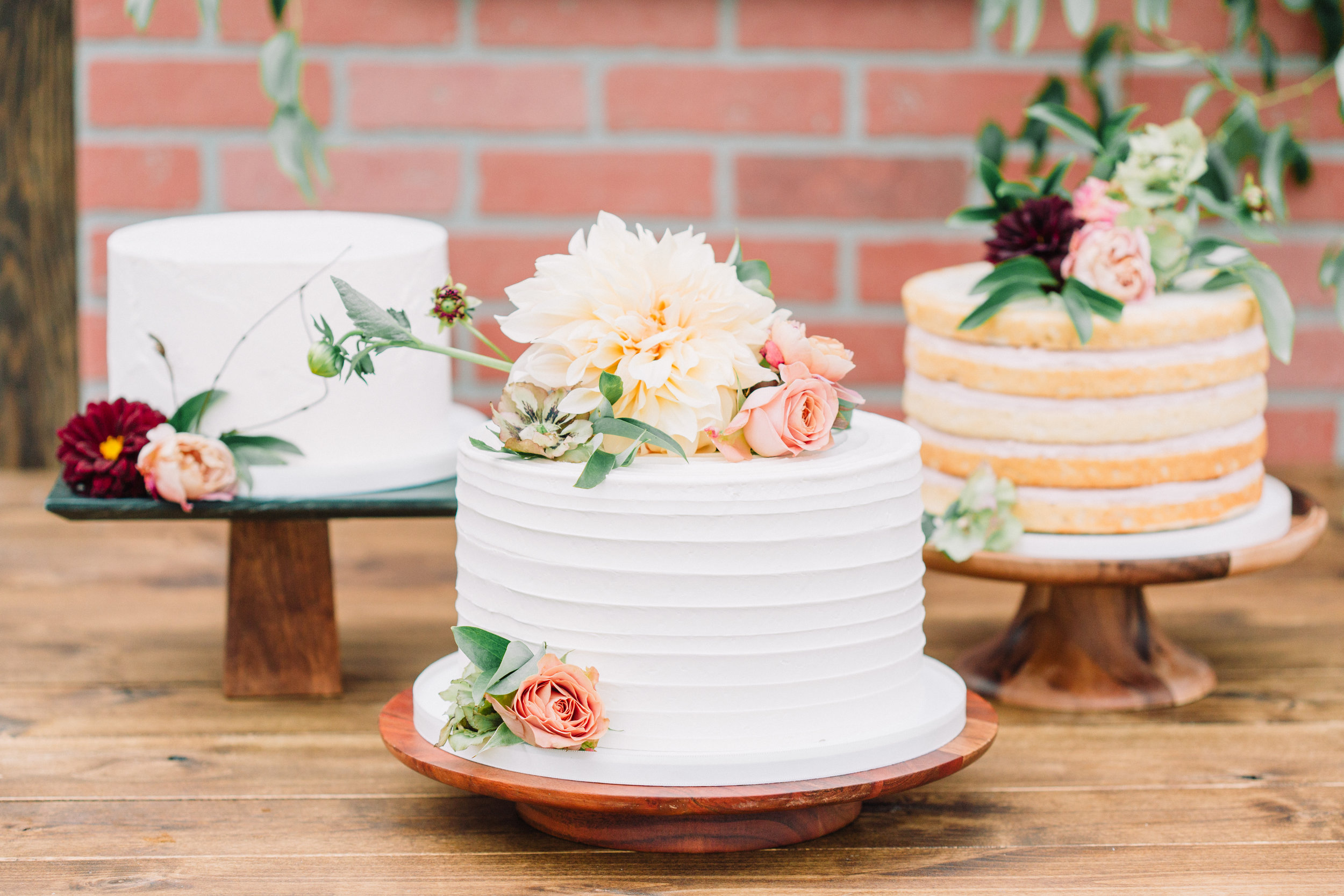 The Potted Pansy Flour and Flourish Cake