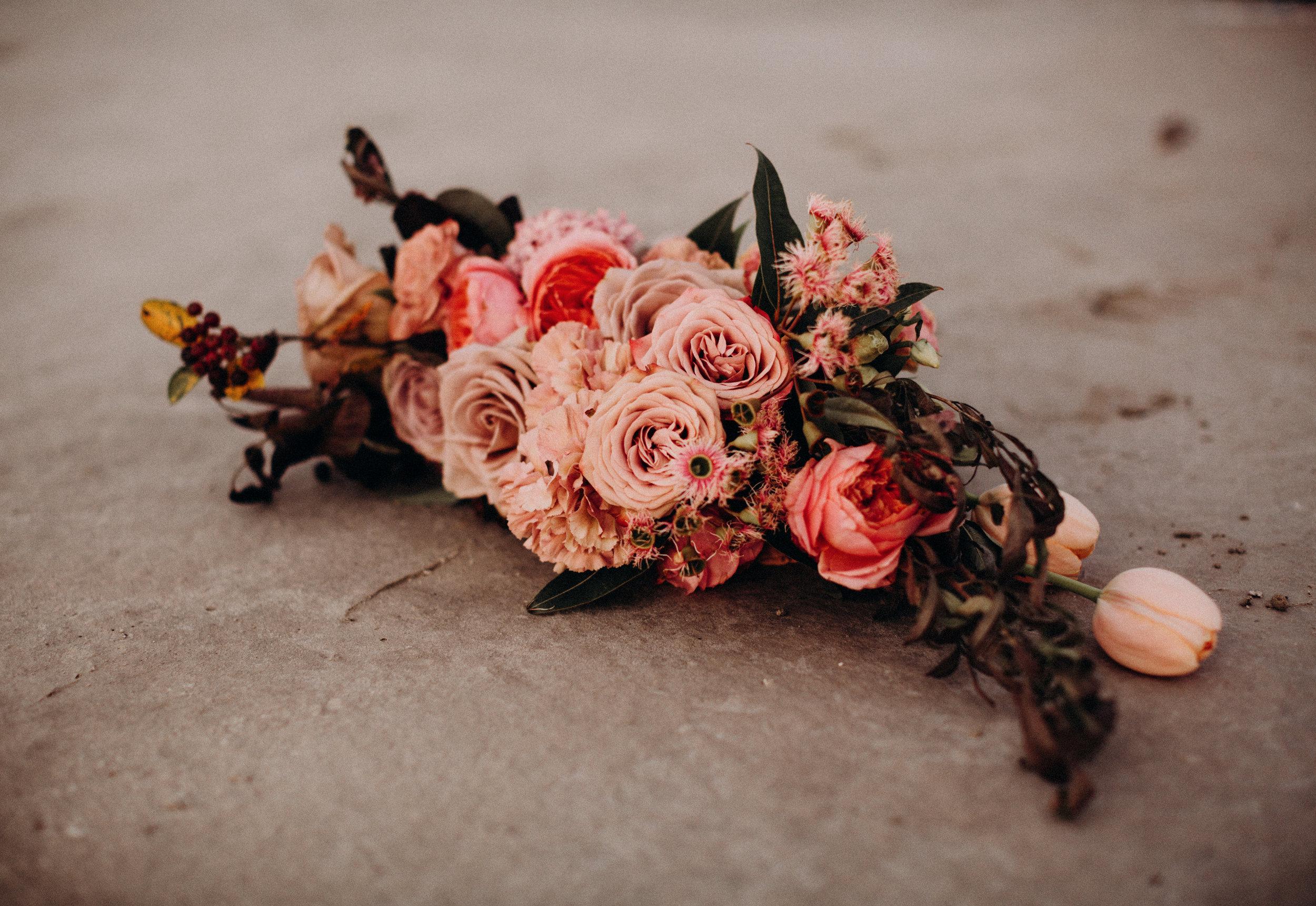 Saltair Bridal Bouquet
