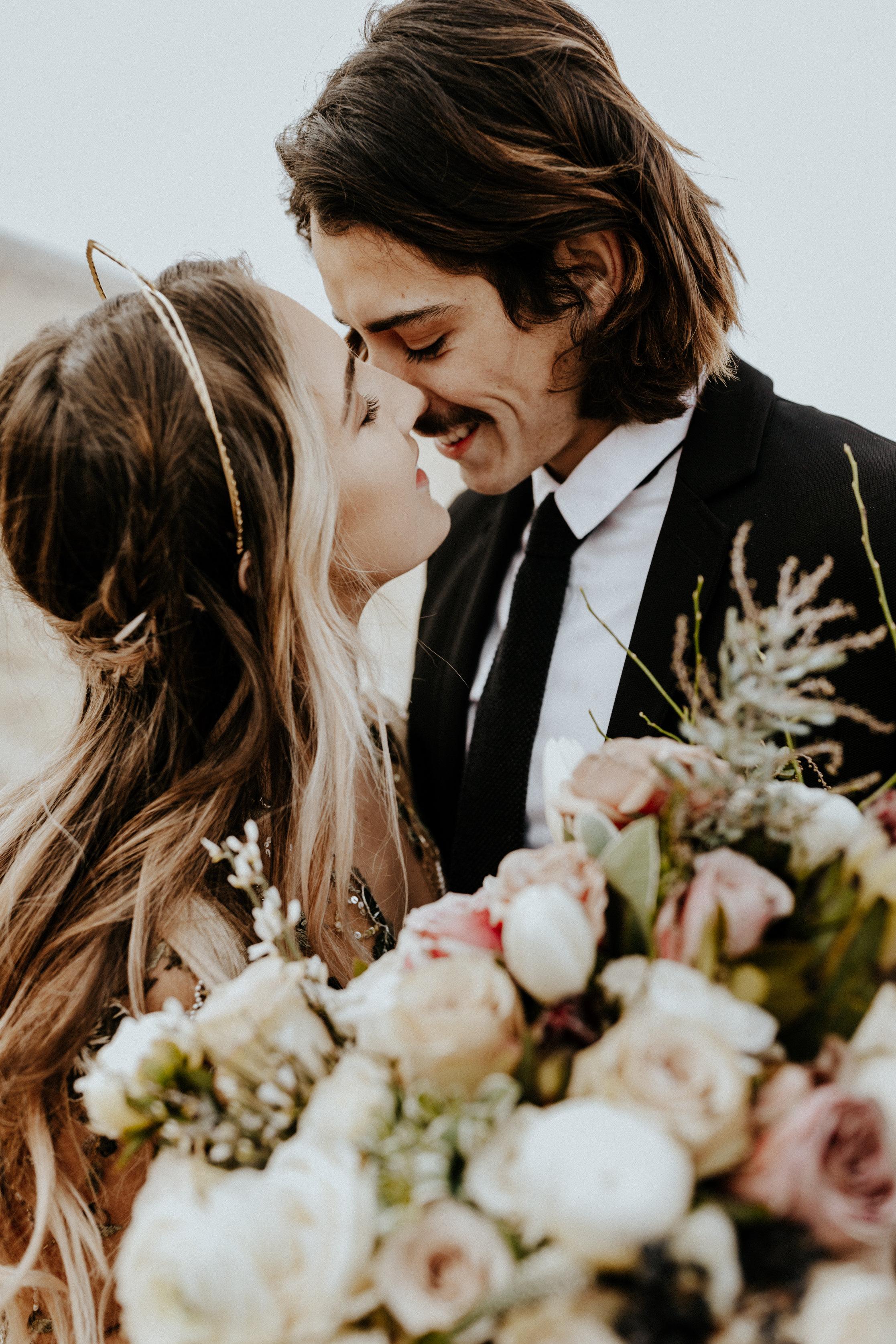 Antelope Island Bridal Session