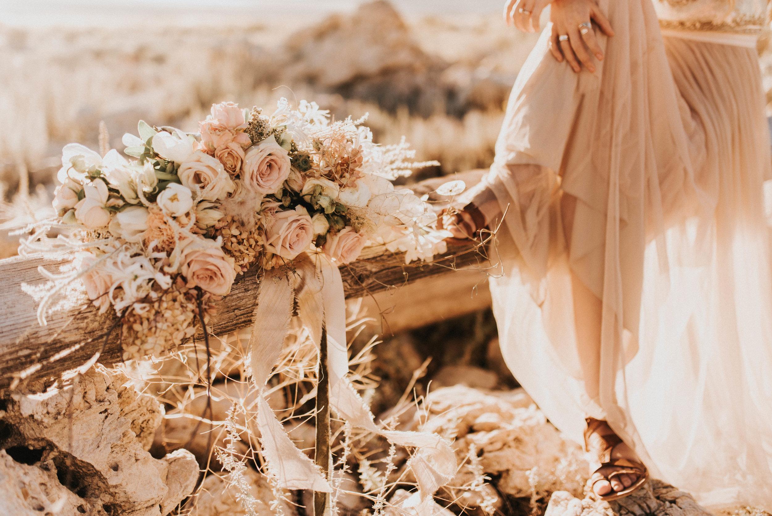 Baylee Dennis + The Potted Pansy Utah Bride
