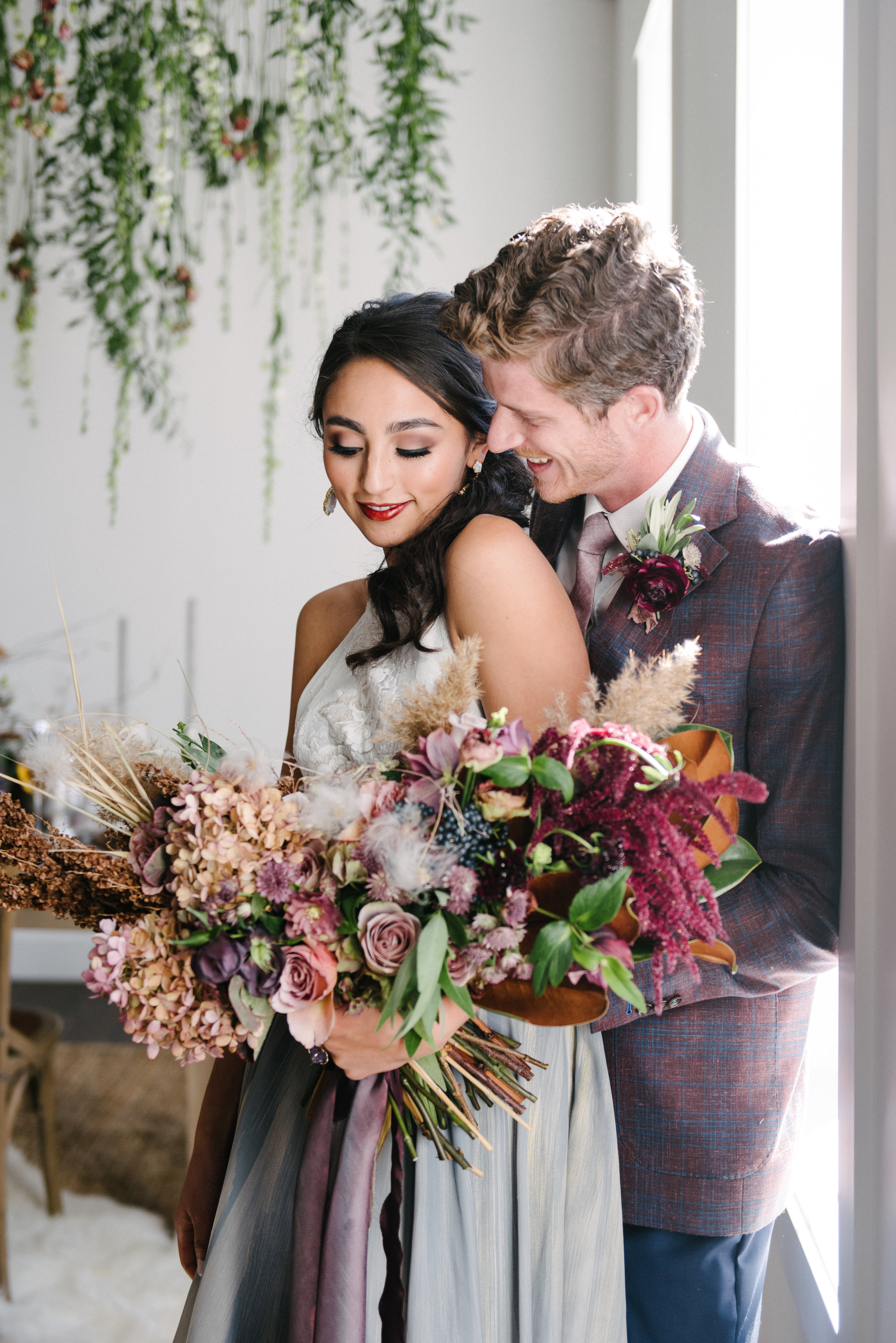 The Potted Pansy Utah Geode Wedding