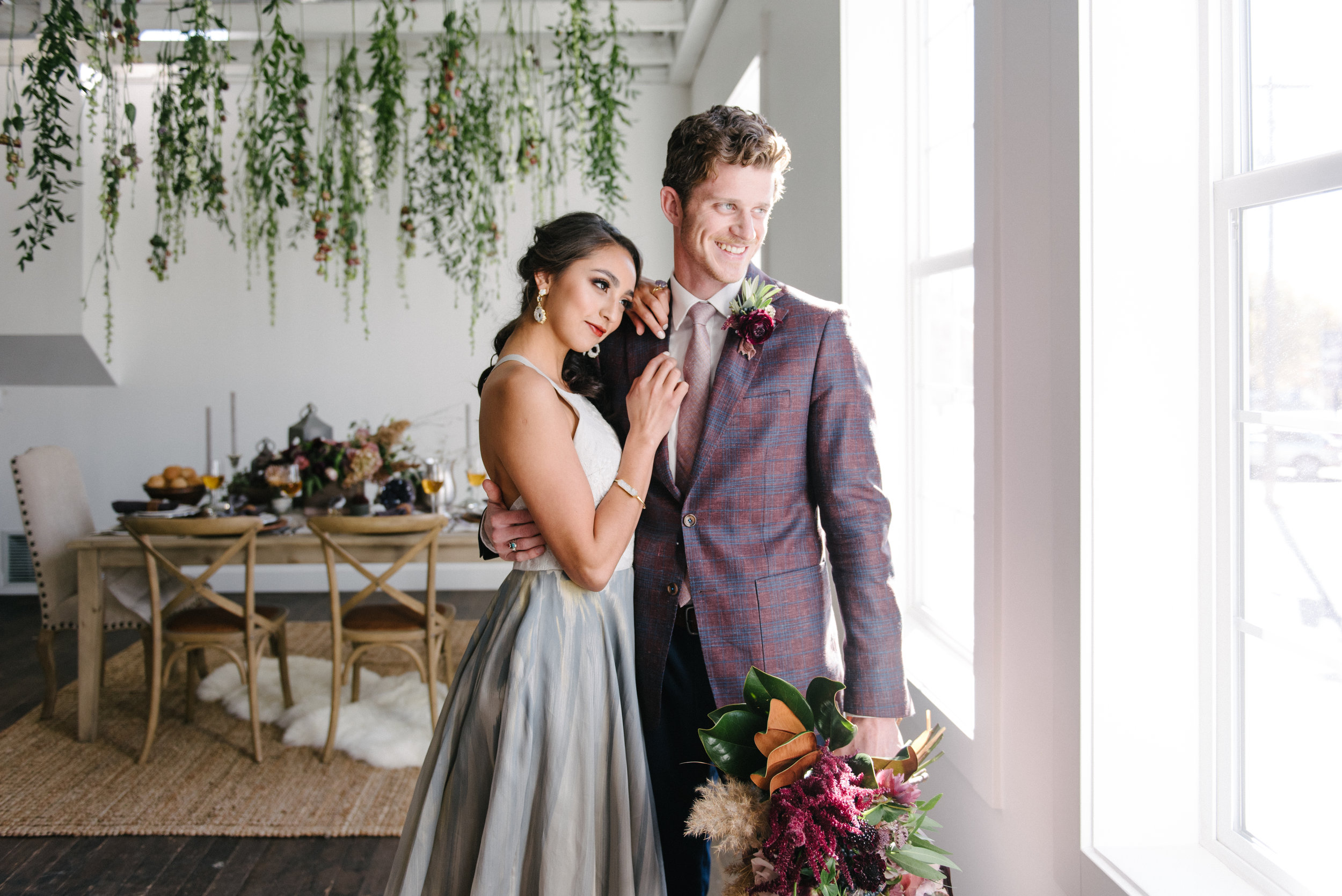 The Potted Pansy Geode Wedding