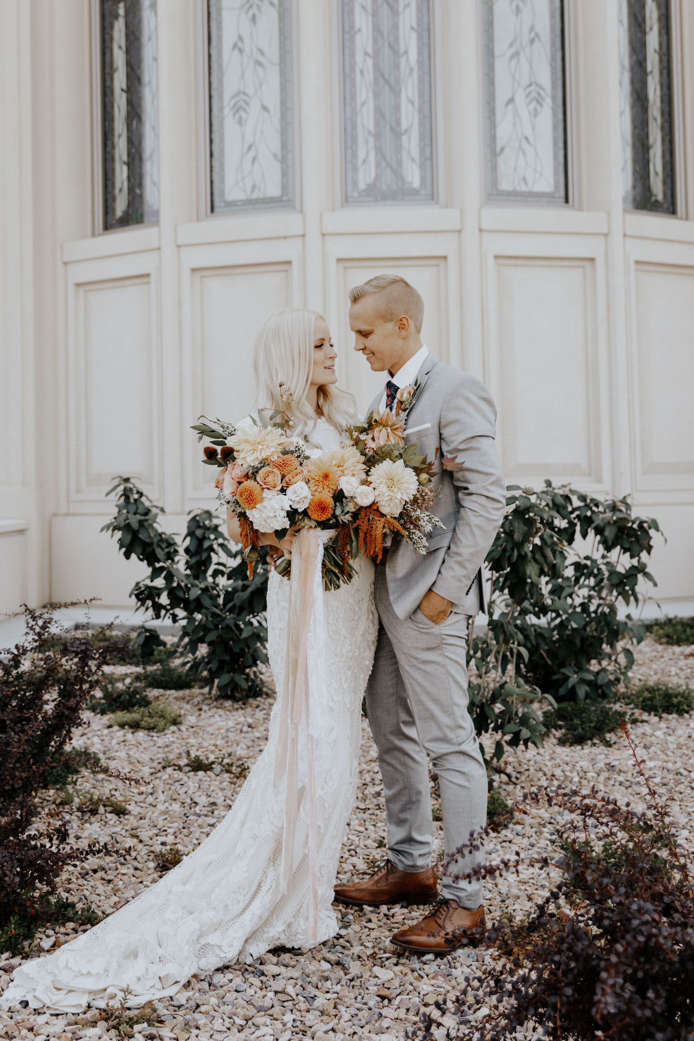 Mercedes and Tyler Utah LDS Wedding