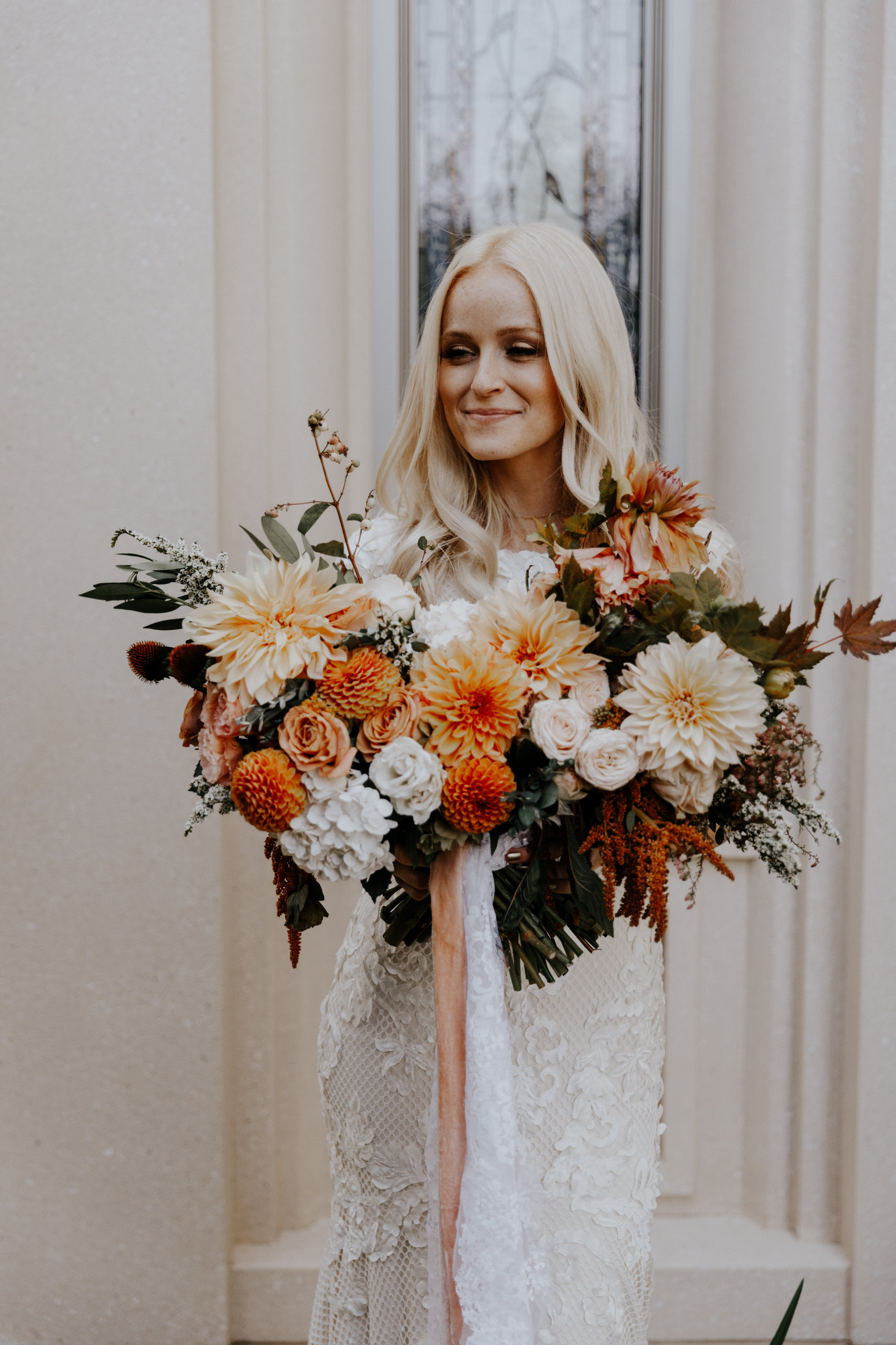 Mercedes Utah Fall Wedding