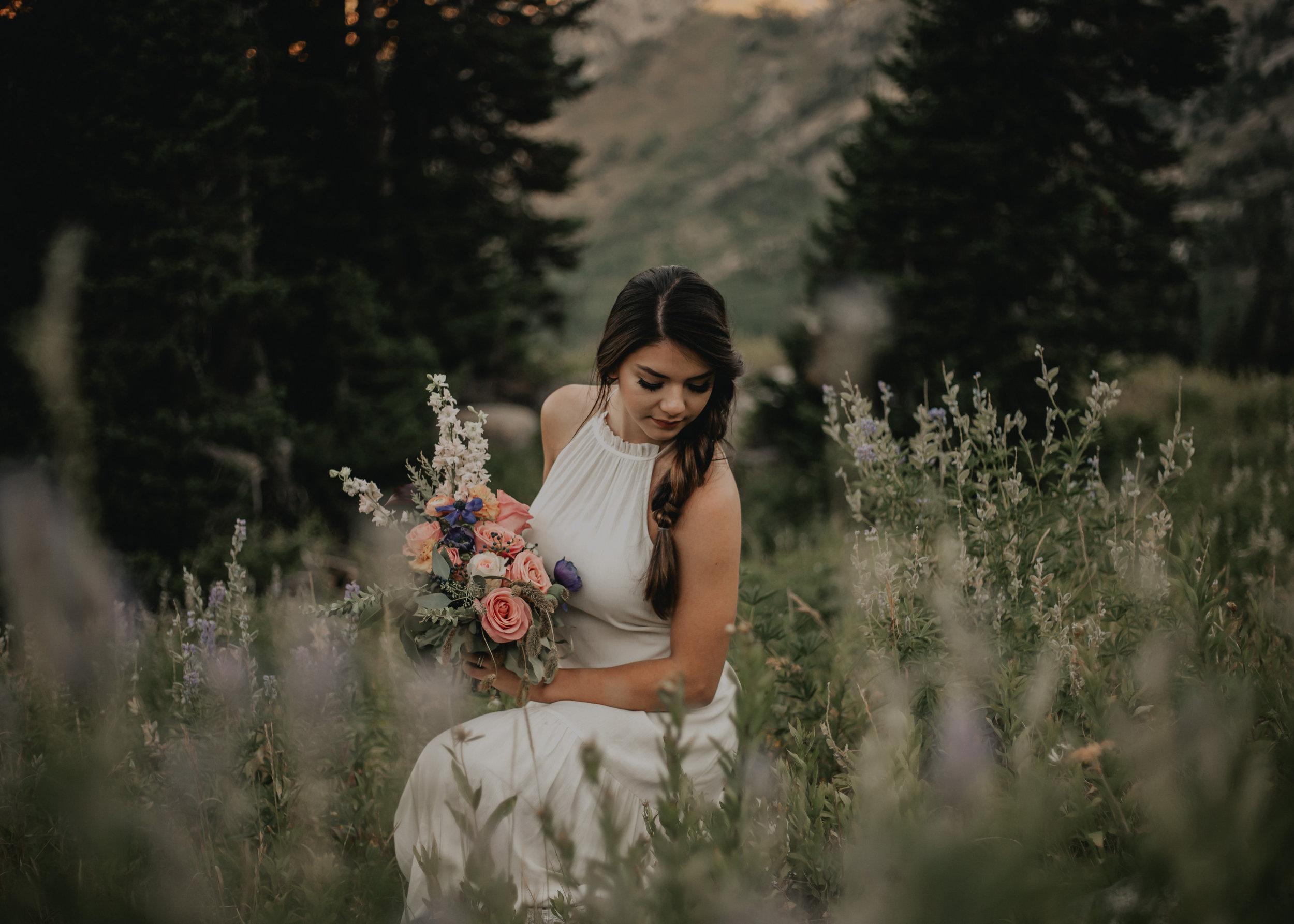 Utah Mountain Bridal Bouquet