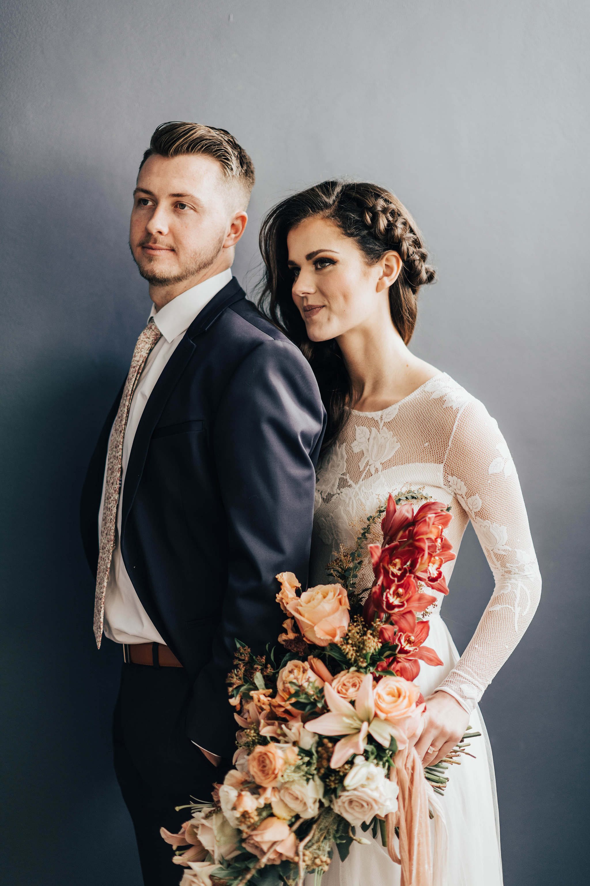 The Potted Pansy Indoor Elopement