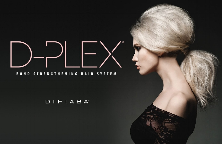 - Bond StrengtheningWHAT IS D-PLEX?D-Plex is the armored shield that protects and improves hair during the process of chemical treatments and services.A 2 STEP PRE-MEASURED BOND REPAIRING AND STRENGTHENING TREATMENTThis 2 Part Synergistic System is designed to protect the integrity of hair during chemical services as well as to maintain the hair resilience. Designed to be added to chemical mixtures, or used in combination with any chemical hair treatment, to prevent damage before it starts. The dual action formulation creates new bonds and buffers the existing natural bonds delivering: increased elasticity, strength, condition and shine.D-plex is the key to a stylist's success.STEP 1 –FORTIFYAdd Fortify to your colors, lighteners and any chemical mixtures to prevent and repair damage. This formula will protect the existing internal and external hair structure. It will improve the strength, elasticity and overall movement of the hair, with the added benefit of more vibrant, longer lasting color results.STEP 2 – FUSEThis restorative treatment conditions the hair while delivering added hydration and nourishment. This strengthener is applied directly after the chemical service to fortify the bonds and structural integrity of the hair. The added hydration and nourishment will help close the cuticle layer, reducing frizz and providing a shiny, uniform surface.There is no additional processing time or changes required for your chemical service. Stylists will be able to use chemicals longer and more often with less risk of damage. Let your creativity run wild while ensuring that the integrity of the hair structure stays intact. Stop the damage you see and prevent the damage you don't with DIFIABA D-plex.