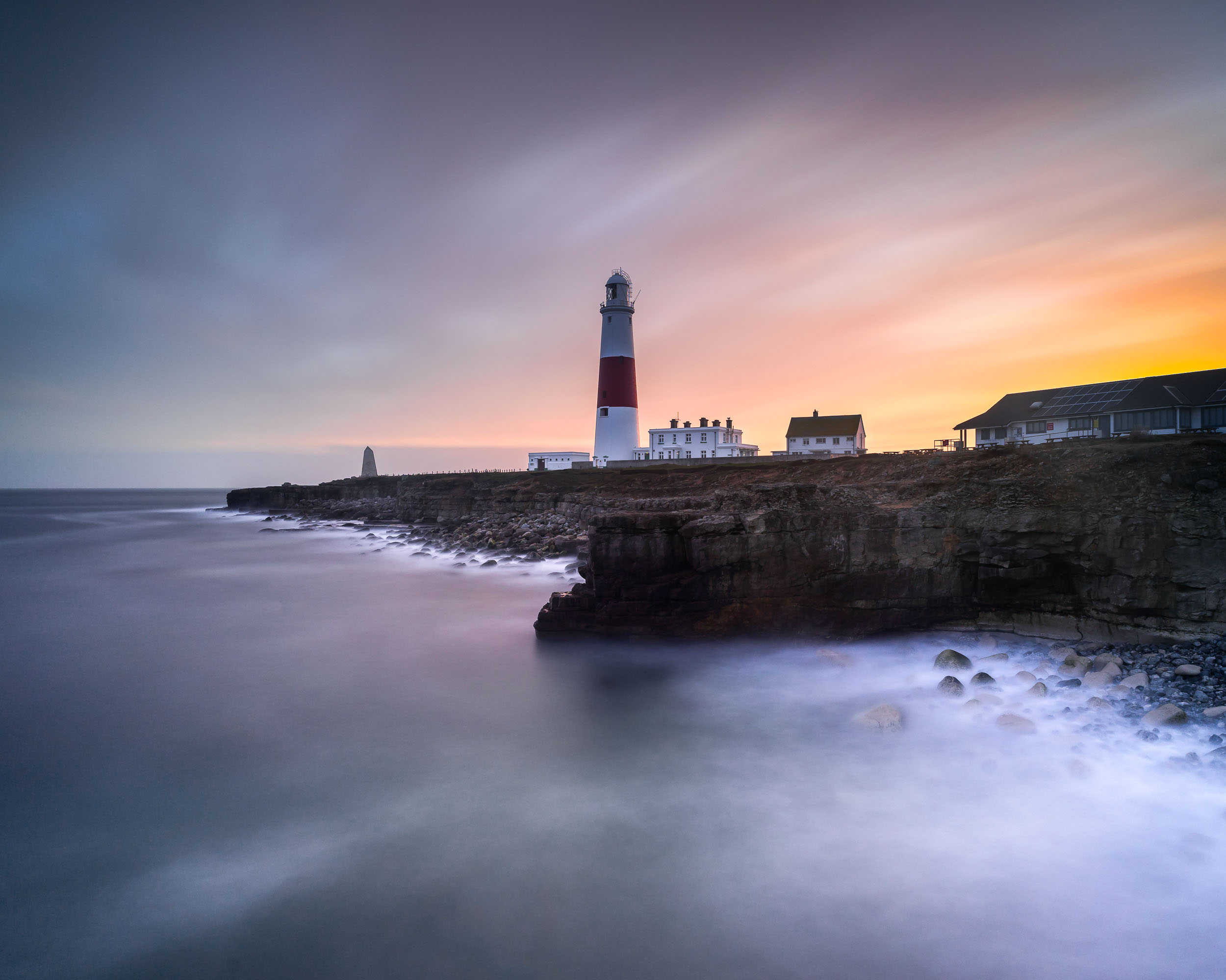 Easter Weekend - Sunset at Portland Bill Lighthouse