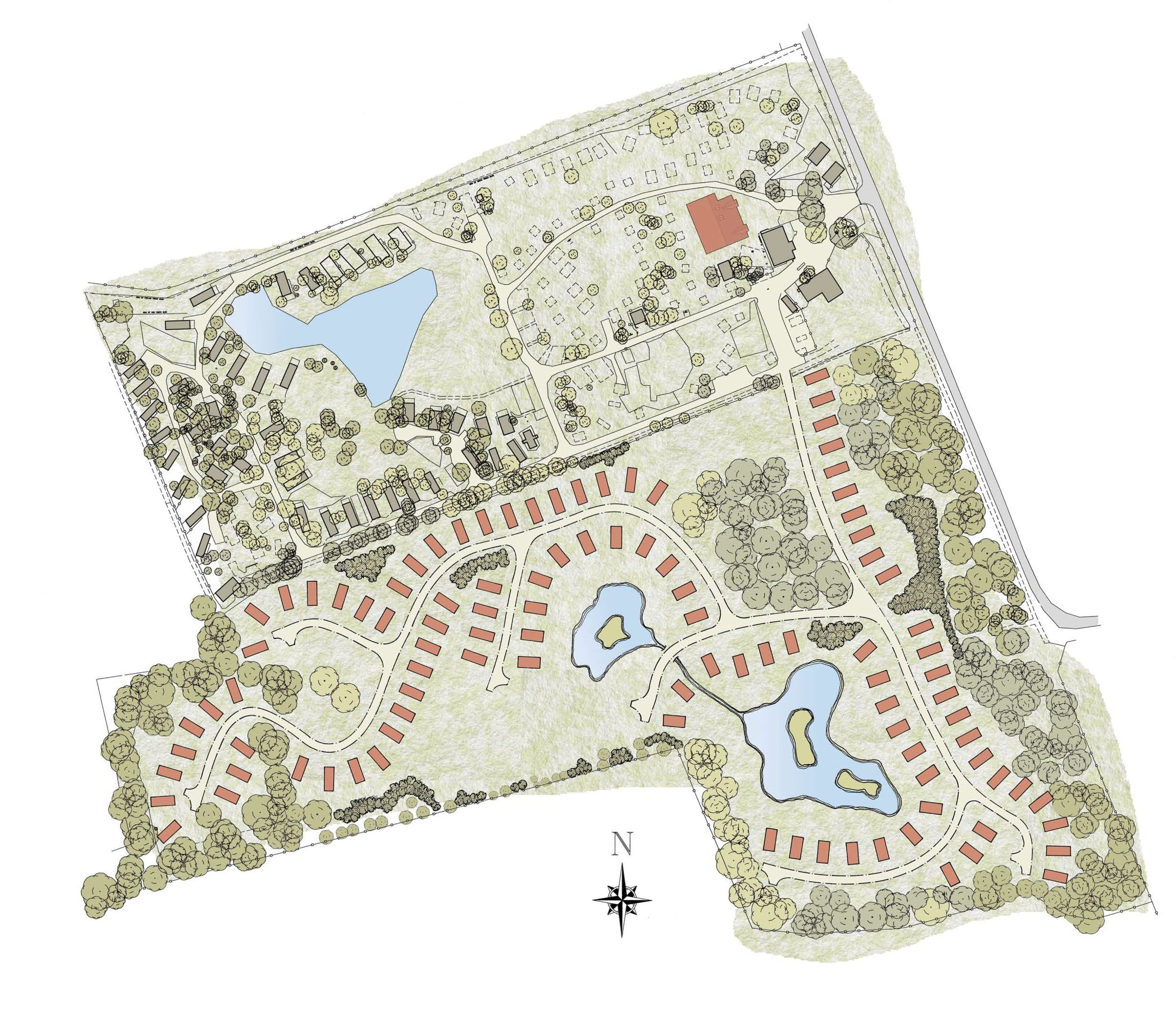 Approved Proposed Site Plan