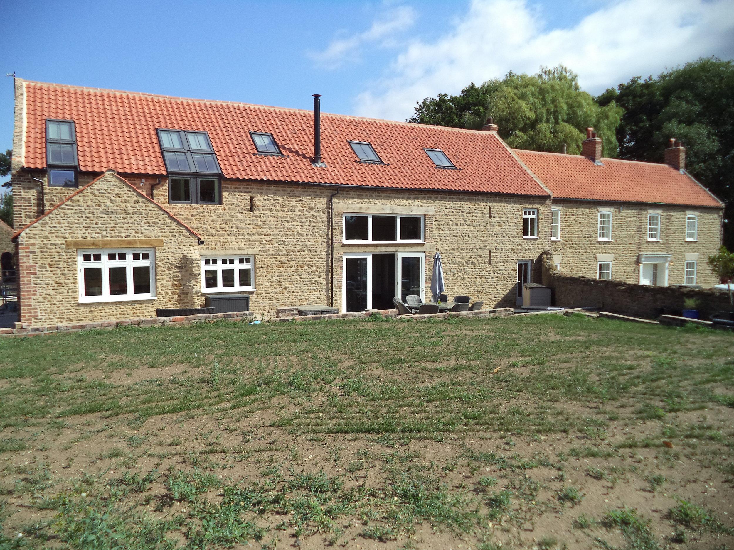 Converted Farm House and Barn