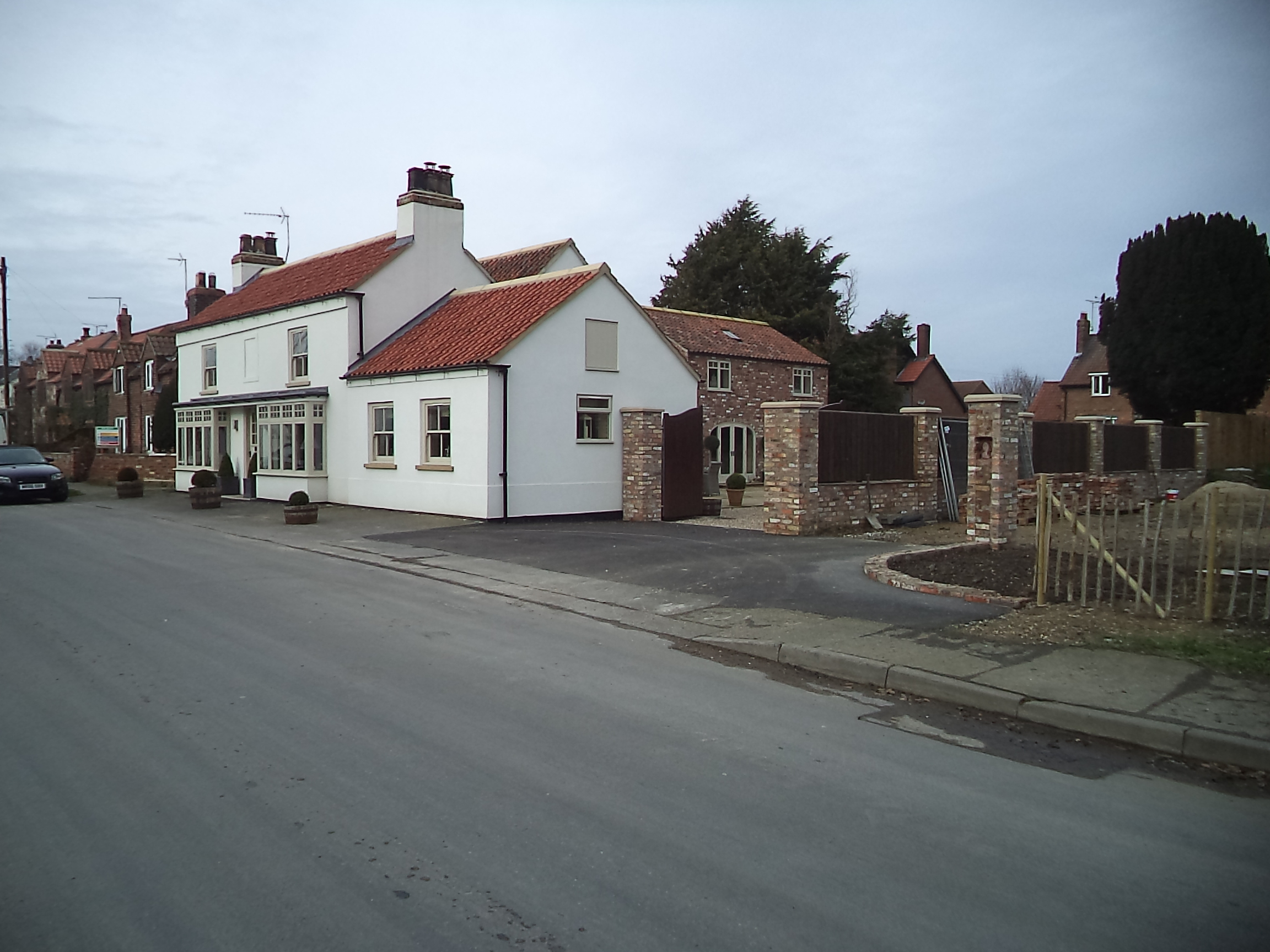 Pub after Redevelopment within the Street Scene