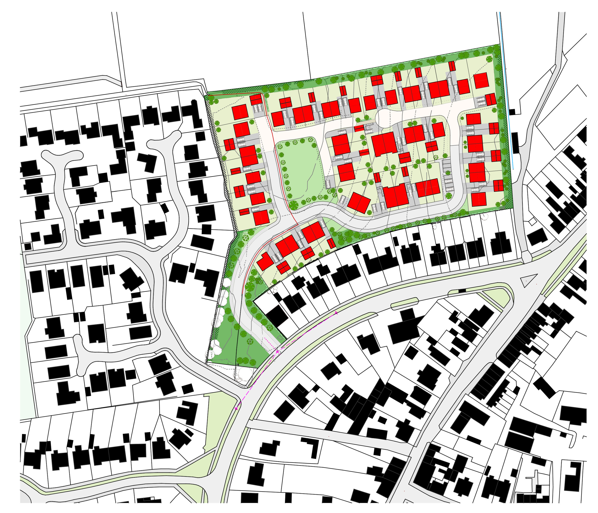 Outline Permission for 50 houses