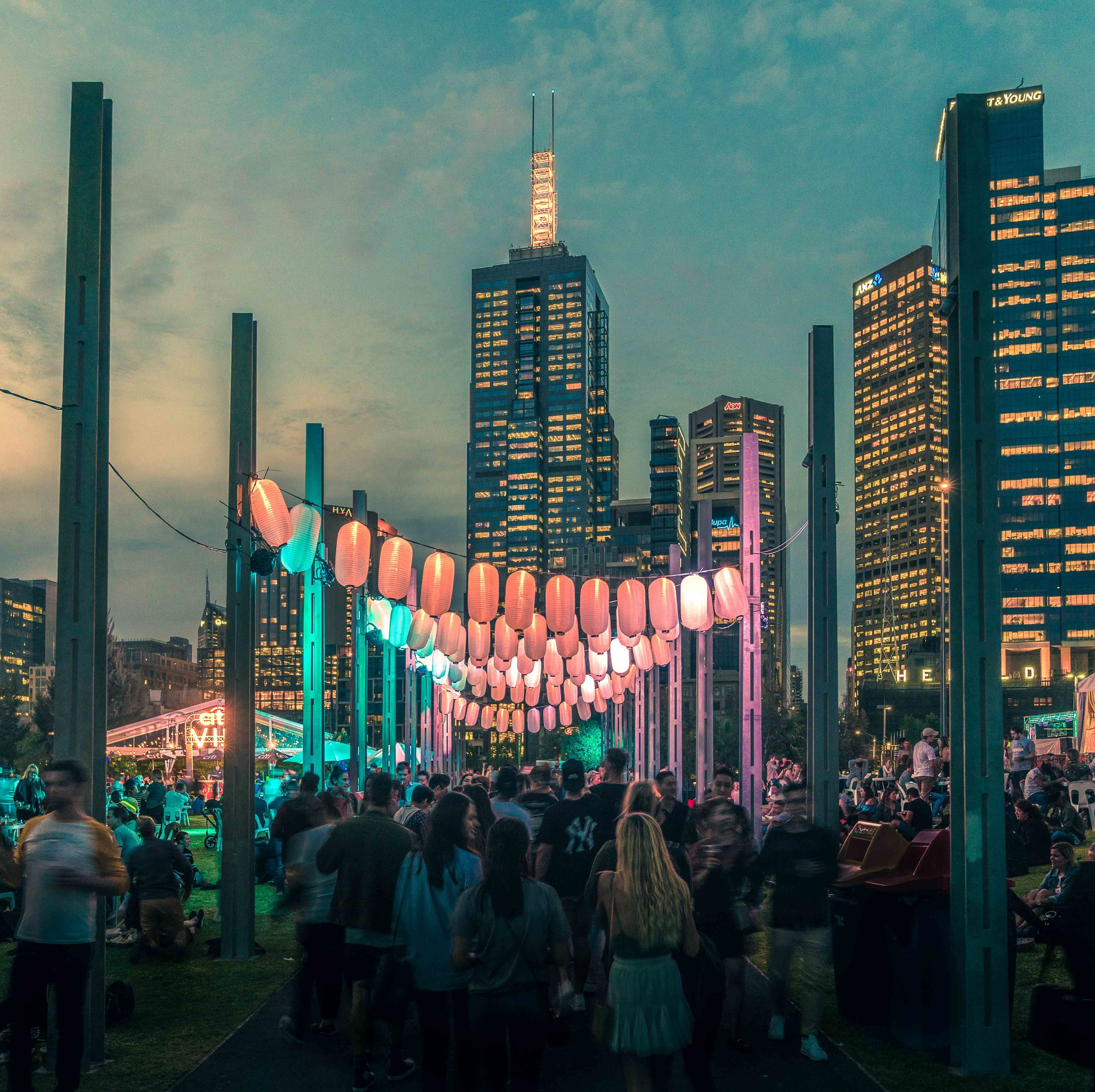 Melbourne, Night Noodle Markets   My home town, but having only just returned after some time away, i have a fresh view on this amazing city.