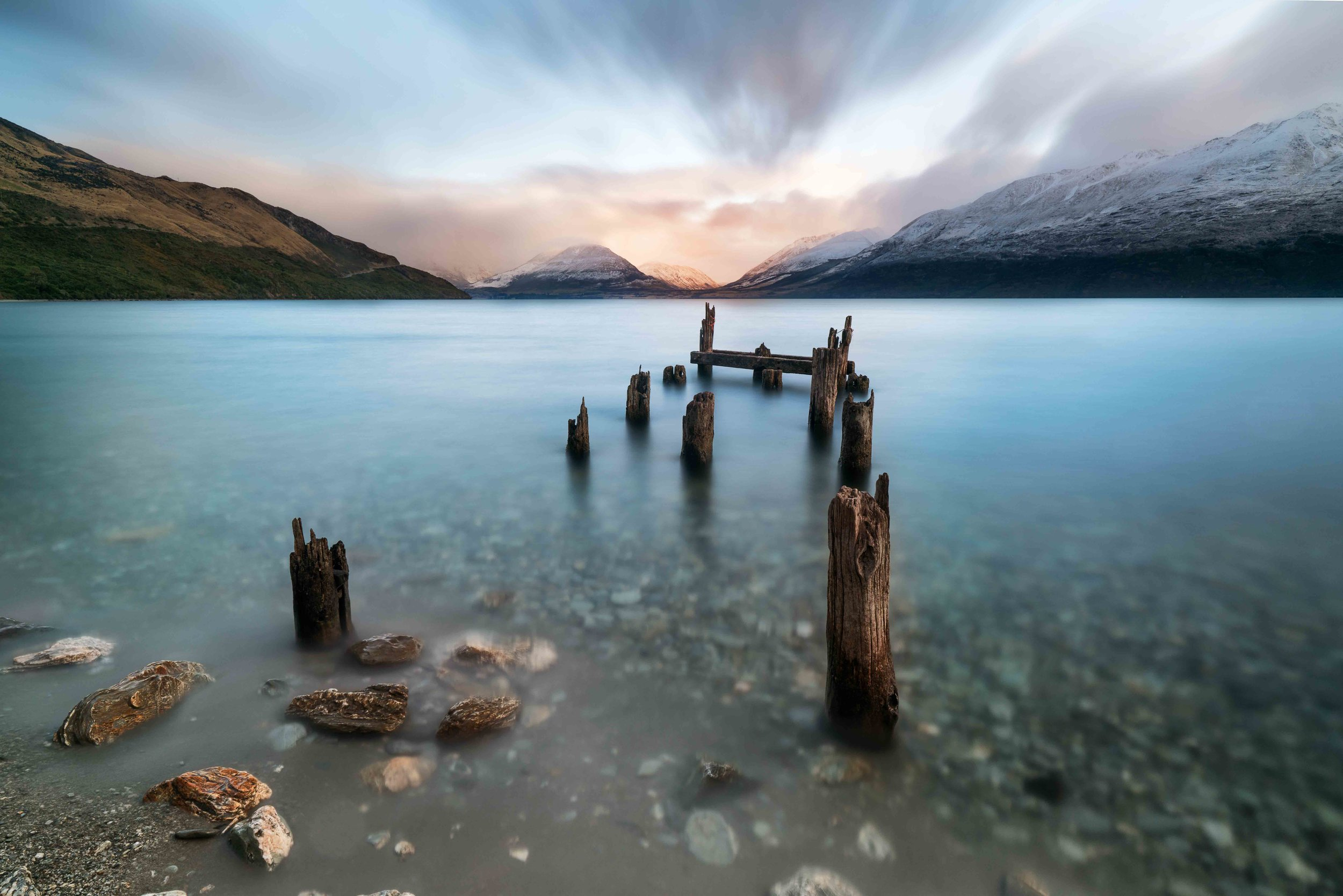 Lake Wakatipu, New Zealand   Ask me where my favourite place in the world is? Queenstown. No question. There might be places more beautiful and more suited to my life style, i just haven't been there yet. For now, I'm ready to move to Queenstown when my wife says yes. Mountains to bike and landscapes to photograph, I'm sorted.