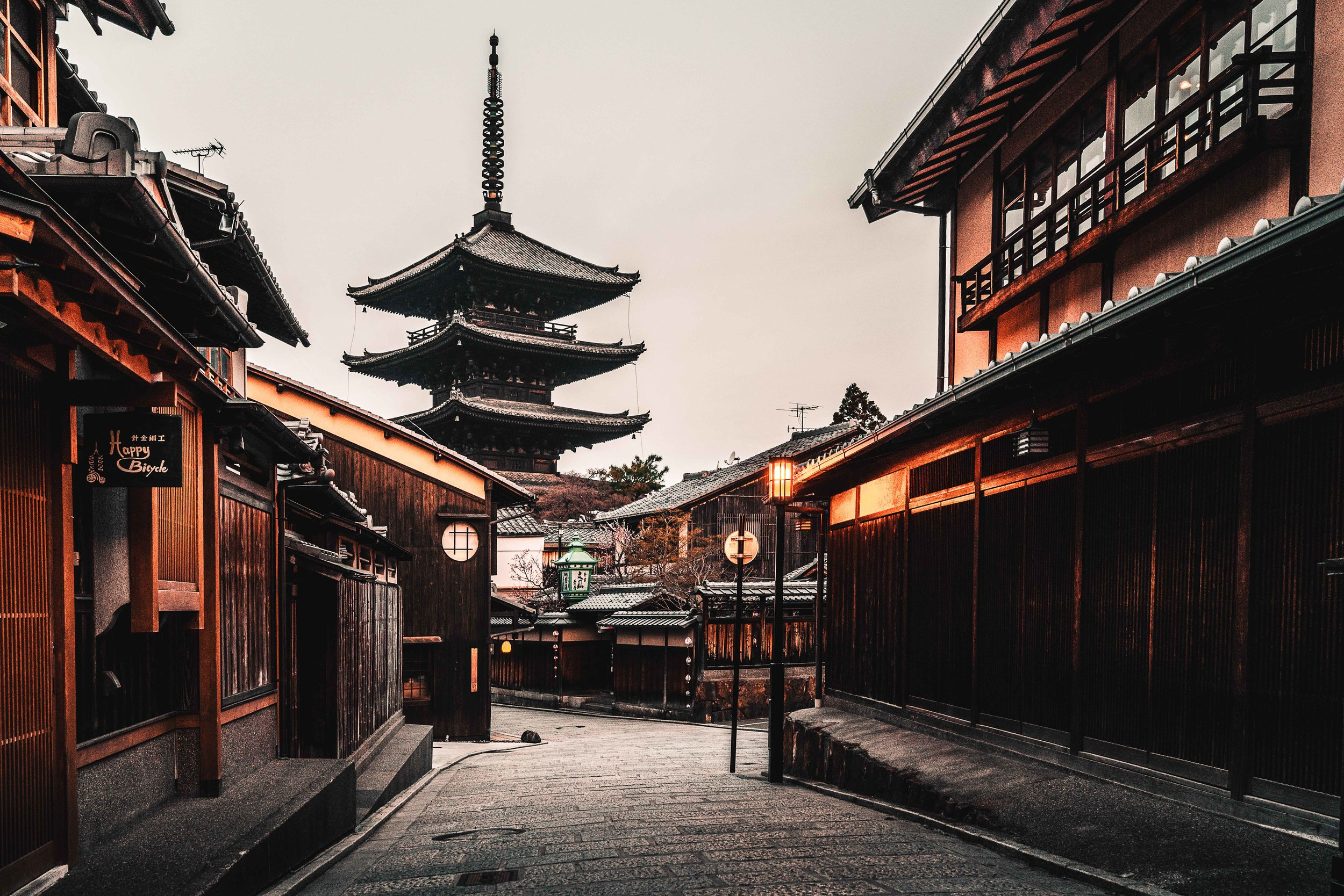 Kyoto, Japan   Theres no other way to see the sights of Kyoto other than the early morning before the crowds. Truely a magical place.