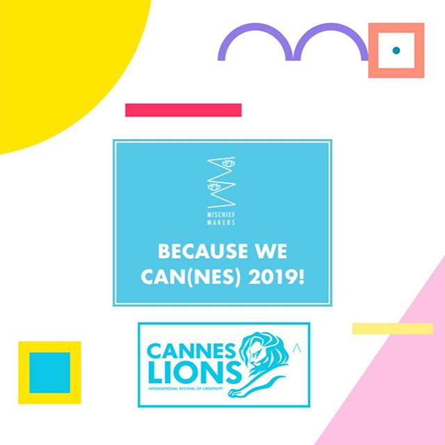 #roar ! 🦁 One week to go until we'll be making some mischief at @cannes_lions ! Who's gonna be there? Slide through the images to see where to find us (apart from the beach) and read more about the sessions via the link in our bio. Also, hit us up... 💡... to attend one of our sessions. 🍹... to grab a drink and have a chat 🕵️♀️ ... if you're a facilitator. We'd love to connect for some mischievous new content!  #canneslions2019 #mischiefmakers  #younglions #canneslions #facilitation #donthatefacilitate #connect