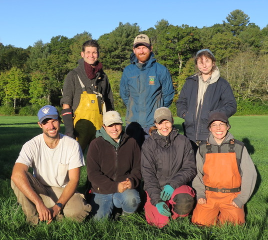 The 2018 Second Nature Farm Crew