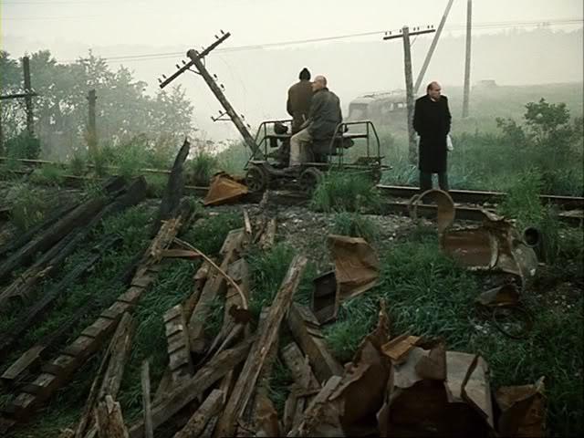 Still from the film Stalker. Dir: Andrei Tarkovsky, 1979.