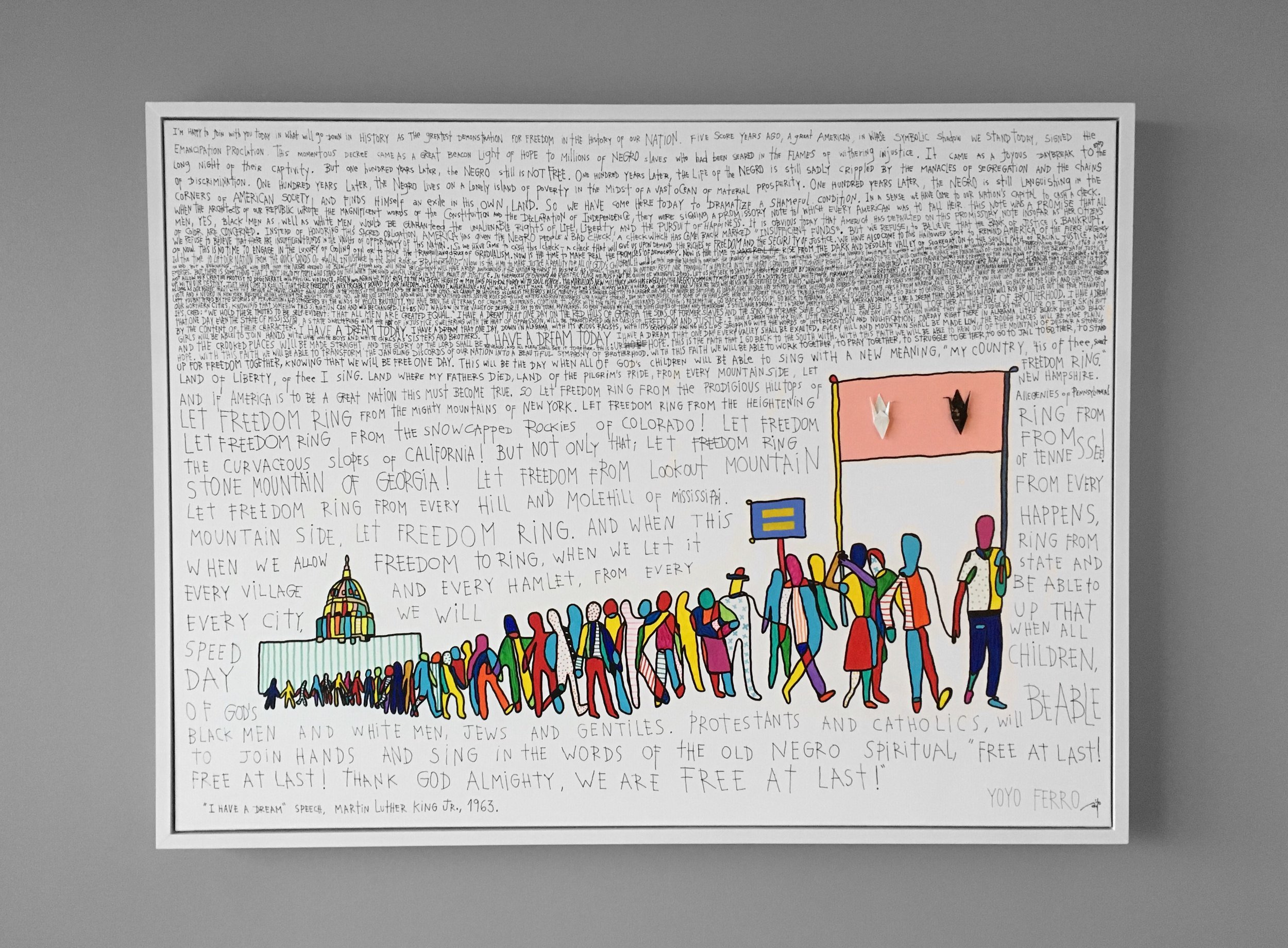 """""""March of 1963"""" , 2014  SOLD"""