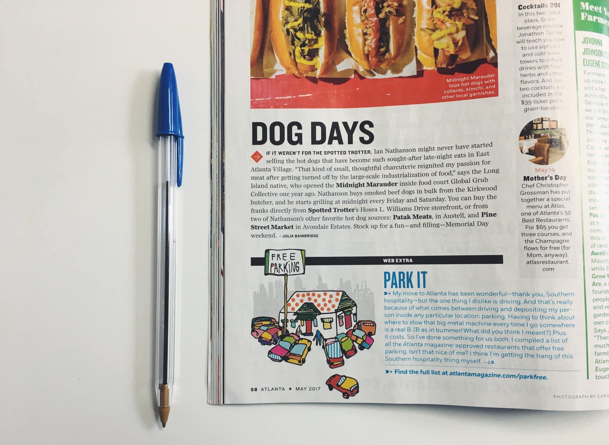 Atlanta Magazine  , 2017