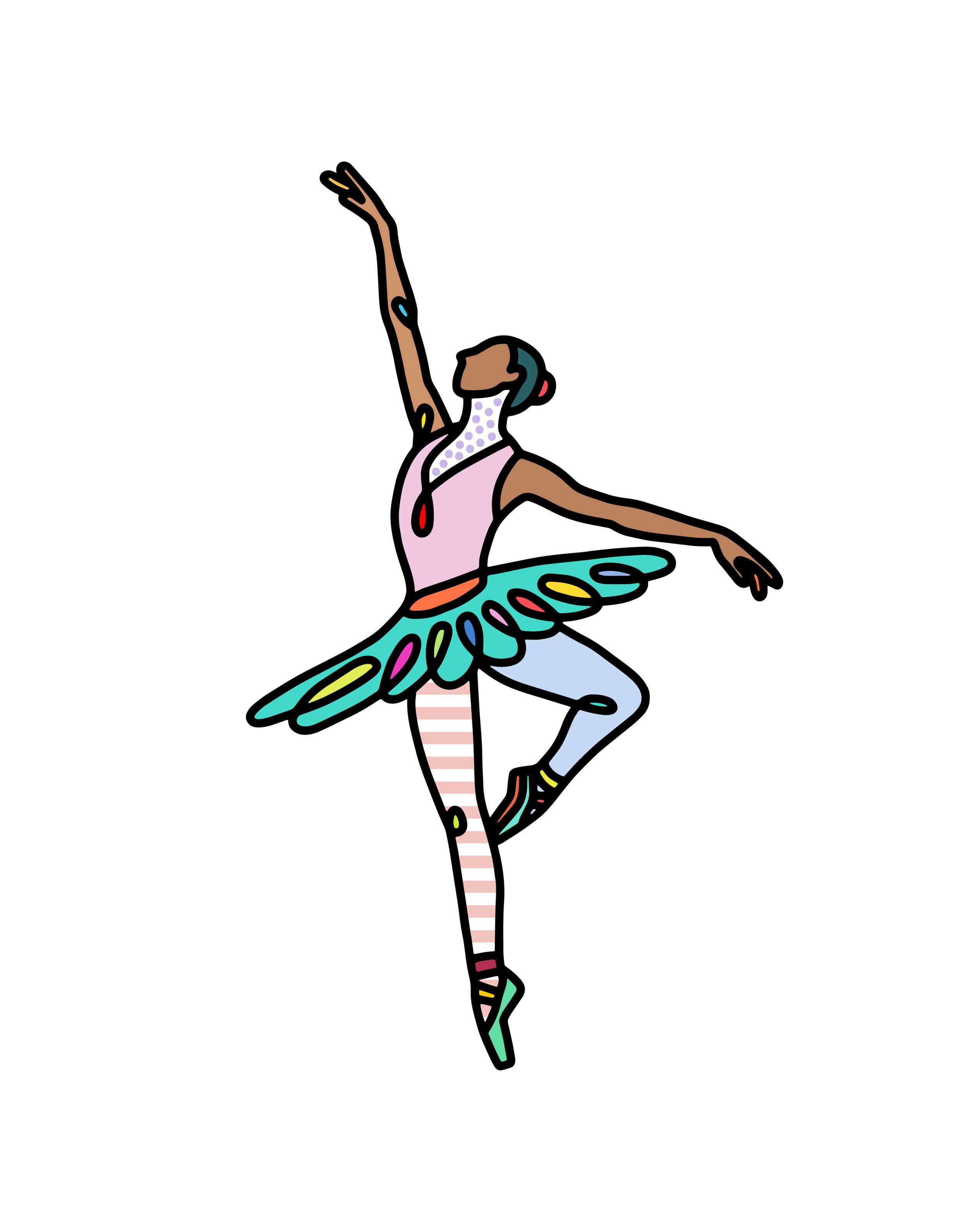 Ballerina , 2018   BUY PRINT